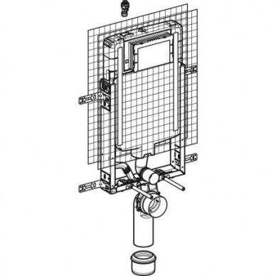 Įmūrijamas WC bakelis Geberit Kombifix 2