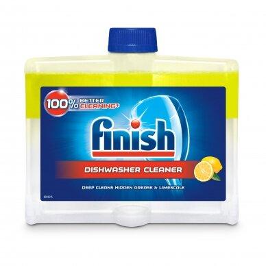 Indaplovių valiklis Finish Cleaner Lemon 250 ml