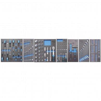 Įrankių spintelė BGS-technic  su 151 įrankiu 3