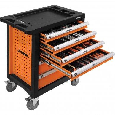 Įrankių spintelė Sthor 302 įrankiai, 6 stalčiai (58550) 3