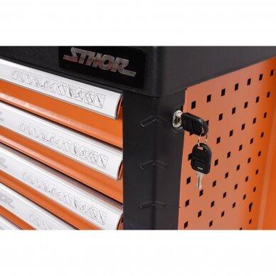 Įrankių spintelė Sthor 302 įrankiai, 6 stalčiai (58550) 6