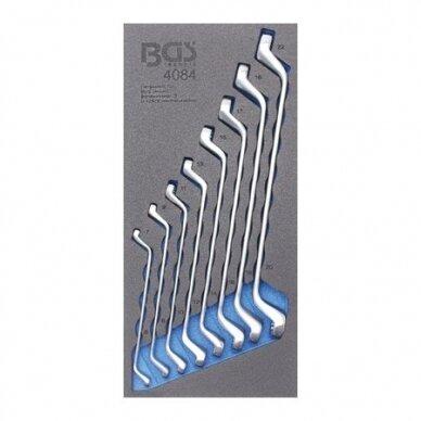 Įrankių spintelė su ratukais BGS-technic Profi Exclusive su 259 įrankiais 20
