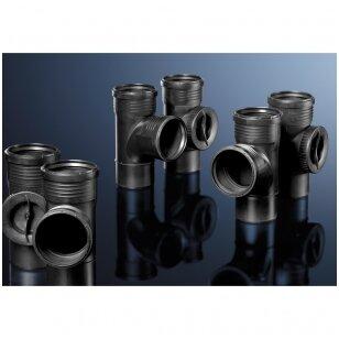 Įsirenginėjantiems namus: Geberit Silent-PP – kanalizacijos movinių vamzdžių sistema su padidinta apsauga nuo triukšmo.
