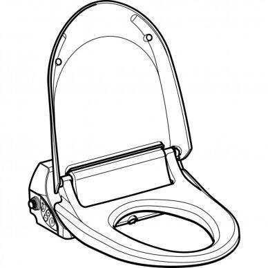 Išmanusis-higieninis unitazo dangtis AquaClean 4000WC 4