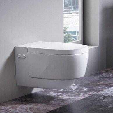 Išmanusis pakabinamas WC puodas Geberit AquaClean Mera Classic