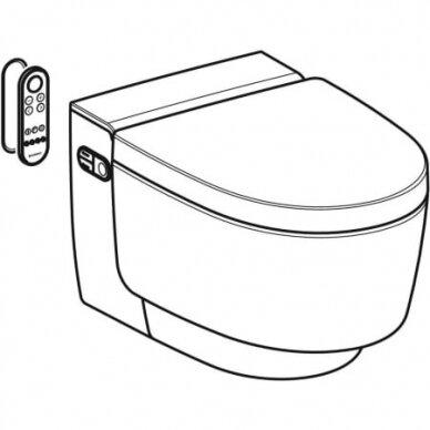 Išmanusis pakabinamas WC puodas Geberit AquaClean Mera Classic 3