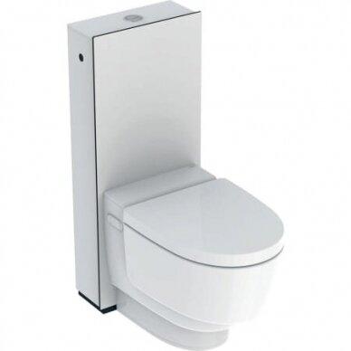 Išmanusis pastatomas WC puodas su išoriniu vandens bakeliu Geberit AquaClean Mera Classic