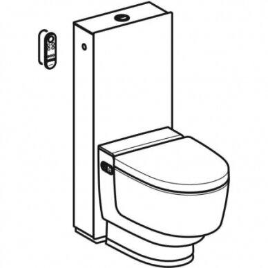 Išmanusis pastatomas WC puodas su išoriniu vandens bakeliu Geberit AquaClean Mera Classic 3