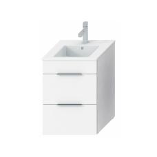 Vonios spintelė su praustuvu Jika Cube 45 cm