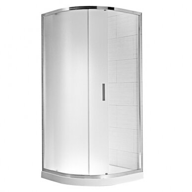 Dušo kabina Jika Cubito Pure 2 dalių 90 cm
