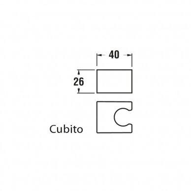 Rankinio dušo laikiklis Jika Cubito Pure 2