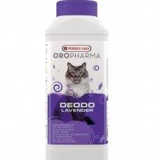 Kačių tualeto dezodorantas Oropharma levandos kvapo 750g