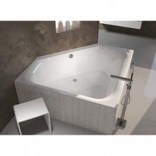Kampinė vonia Riho Austin 145 cm