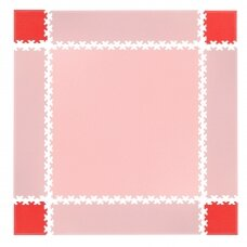 Kampinės dalys sudedamai dangai inSPORTline Simple Red – 4 vnt.