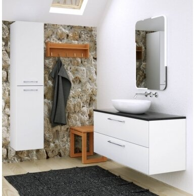 Vonios baldų komplektas Natura 120 5 dalių