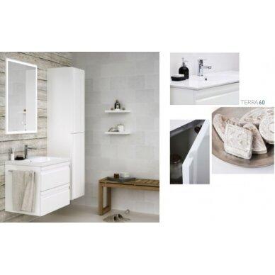 Vonios baldų komplektas Terra 60 3 dalių 2