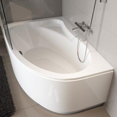 Kampinė akrilo vonia Riho Lyra 140, 153,5, 170 cm