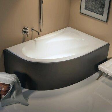 Kampinė akrilo vonia Riho Lyra 140, 153,5, 170 cm 2