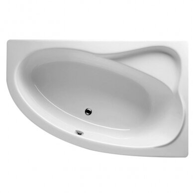 Kampinė akrilo vonia Riho Lyra 140, 153,5, 170 cm 3