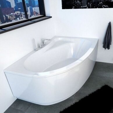 Kampinė akrilo vonia Riho Lyra 140, 154, 170 cm