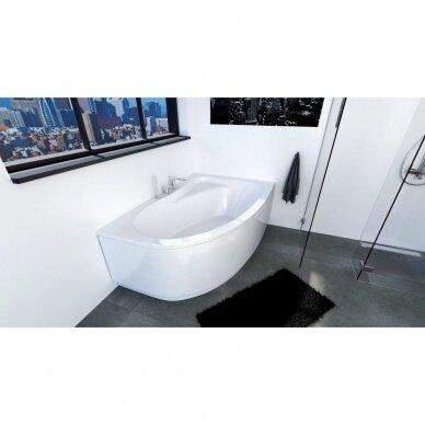 Kampinė akrilo vonia Riho Lyra 140, 154, 170 cm 4