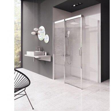 Kampinė dušo kabina Ravak Matrix MSDPS 100, 110, 120 cm 3