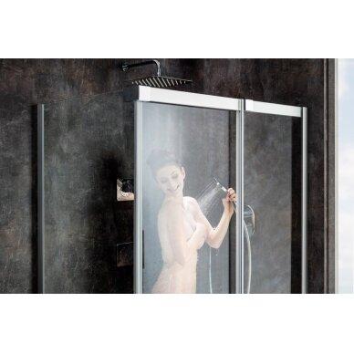 Kampinė dušo kabina Ravak Matrix MSDPS 100, 110, 120 cm 4