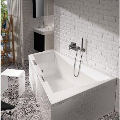 Kampinė vonia Riho Doppio 180 cm