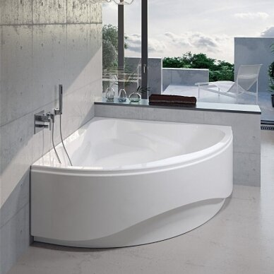 Kampinė vonia Riho Neo 140, 150 cm