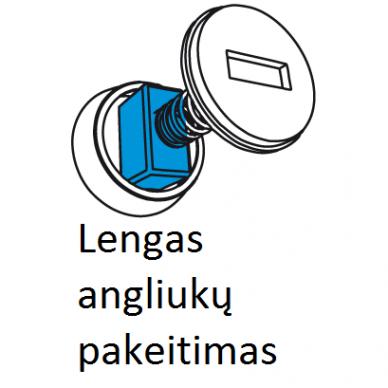 KAMPINIS ŠLIFUOKLIS GRAPHITE 59G208, 2600W, 230MM 5