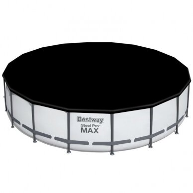 Karkasinis baseinas Bestway Frame Pool 549x122cm 11in1 56462 6