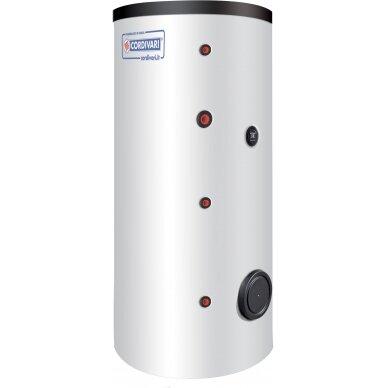 Karšto vandens šildytuvas Cordivari BOLLY 1 AP su vienu gyvatuku, 500 l, šilumokaičio plotas 2,6 m²