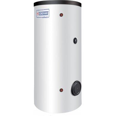 Karšto vandens šildytuvas Cordivari BOLLY1 XL, 300 l, šilumokaičio plotas 3,4 m²