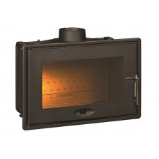 Ketinis židinio ugniakuras Invicta 700 OPTIMISE, 8 kW, malkinis, 80 m²