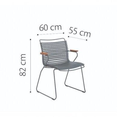Kėdė Houe Click su  porankiais 3