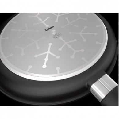 Keptuvė Lotan Premium indukcinė keturkampė grilinė 28 cm 2