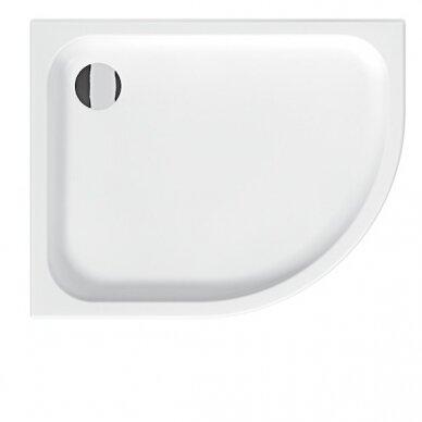 Keramikinis dušo padėklas Jika Tigo 100 cm su Antislip danga