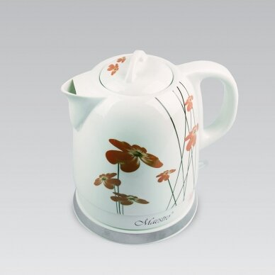 Keramikinis virdulys Maestro MR-066-RED 1.5 l 2