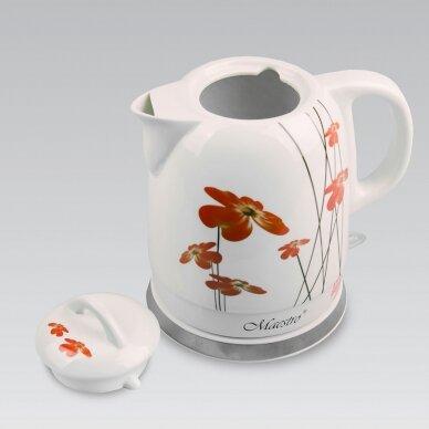 Keramikinis virdulys Maestro MR-066-RED 1.5 l