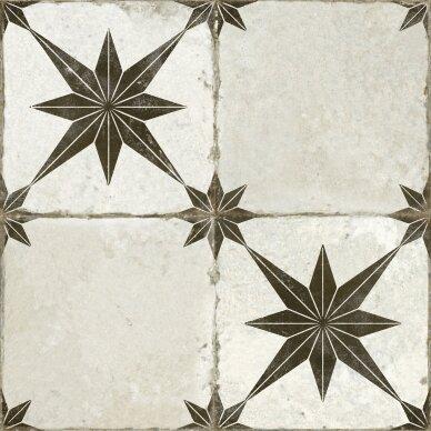 Keraminės plytelės Fs Star Black 45x45