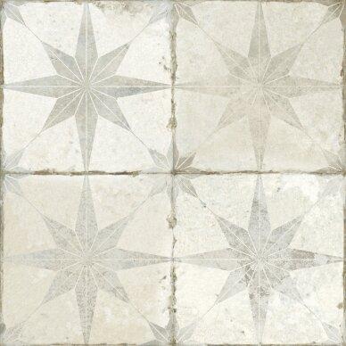 Keraminės plytelės Fs Star White 45x45
