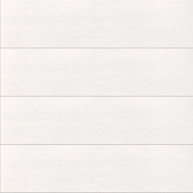 Keraminės plytelės Wall Tones White 30x120