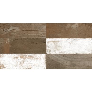 Keraminės sienų plytelės Fs Mud Cocoa 20x40