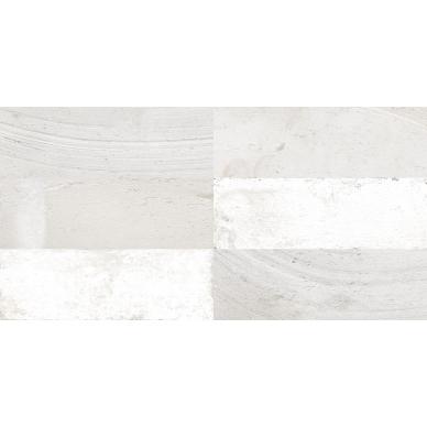 Keraminės sienų plytelės Fs Mud White 20x40