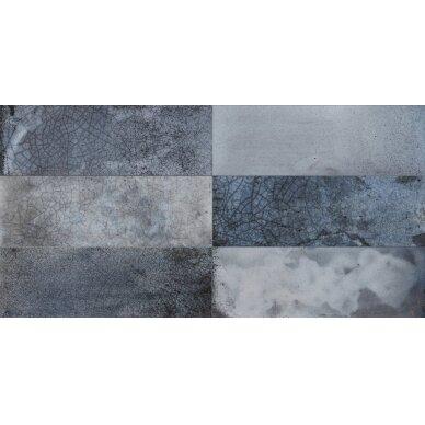 Keraminės sienų plytelės Fs Raku Blue 20x40