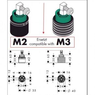 Keraminis kartridžas Hansgrohe M2=M3, 92730000 4