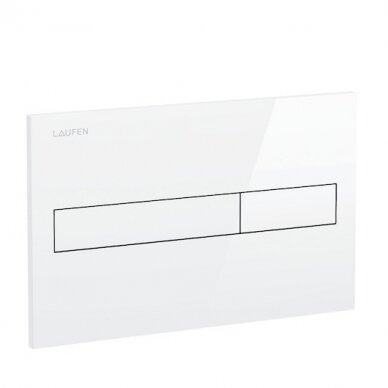Klozeto rėmas Laufen LIS ir LIS Dual Flush mygtukas 3
