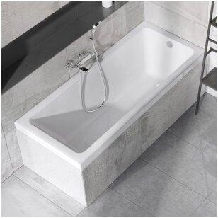 Kokios medžiagos vonią rinktis?