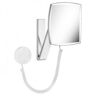 Kosmetinis veidrodis Keuco iLook move su led jungikliu 20 cm