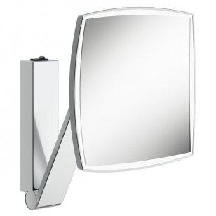 Kosmetinis veidrodis su jungikliu Keuco iLook move kvadratinis 20 cm